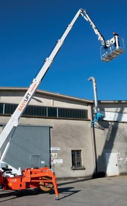 Easy Lift teleskopska platforma na kotačima 30m WBA