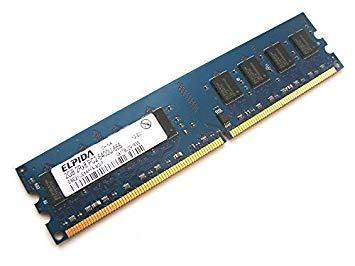 2GB ELPIDA PCw-6400 800mhz DDR2 dimm EBE2UE8AAFFA-8G-F