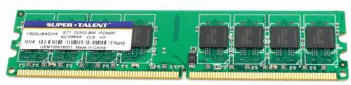 4GB SUPER*TALENT PC2-6400 800mhz DDR2 STT DDR2-800
