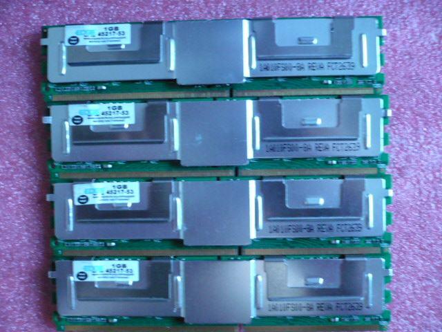 4x1GB PowerEDGE HP D35173-001 PC2-5300FB 667MHz DDR2 ECC FBDIMM ( ProL