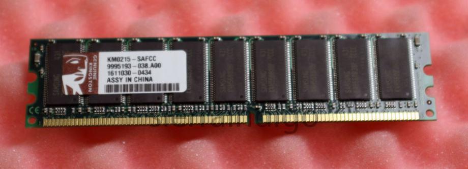 512MB KINGSTON 184Pina PC3200 400mhz DDR ECC za SERVER KM0215-SAFCC