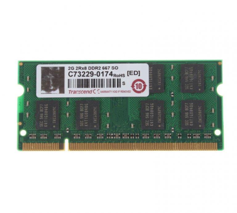 2GB RAM PC2 DDR2 200pin SO-DIMM Laptop memorija