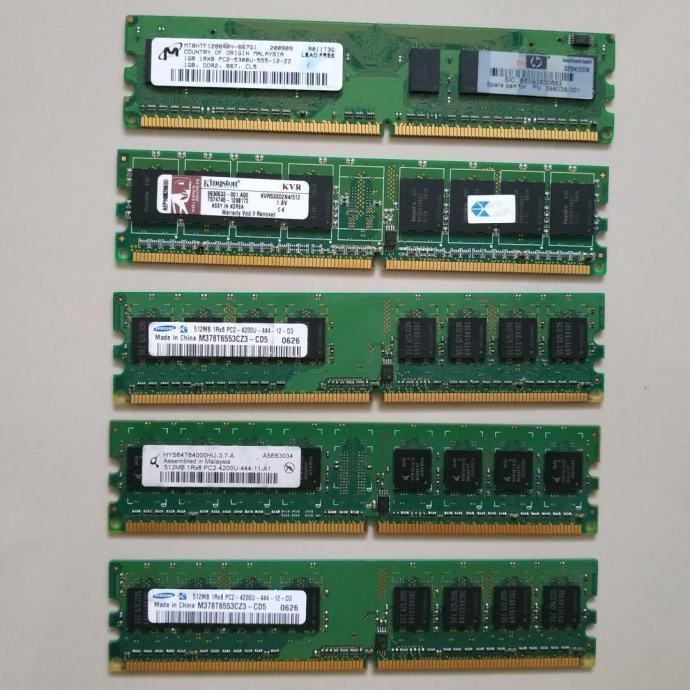 Ram DIMM za PC DDR2 2GB | Razni proizvođači | jamstvo | R1 račun