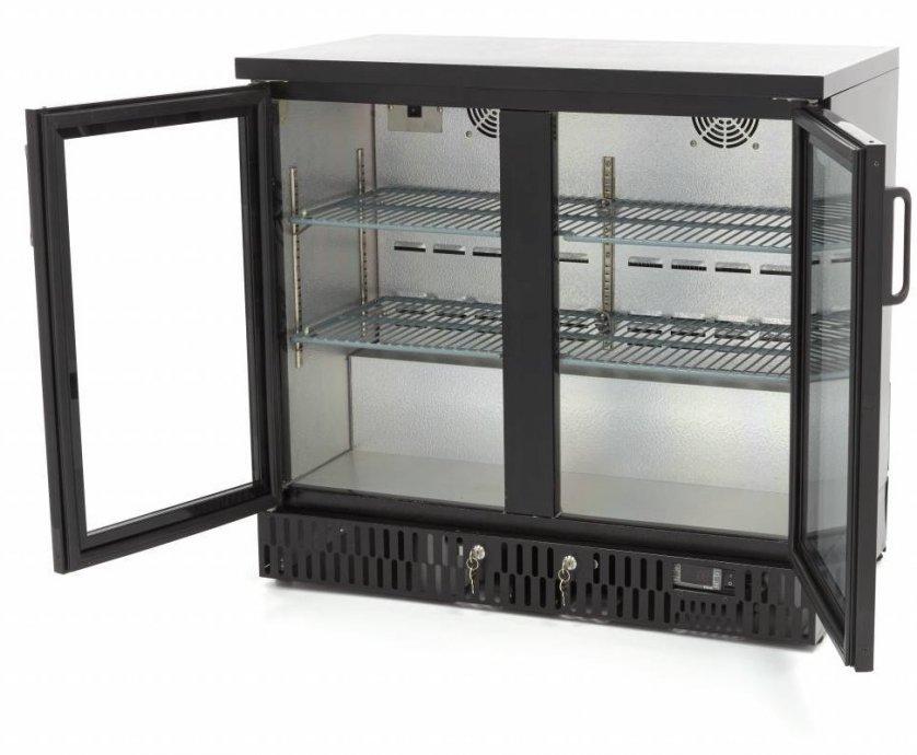 Hladnjak za piće sa krilnim vratima (2x) 1350x515x850mmH