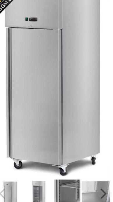 Inox hladnjak 600 lit! NOVO!