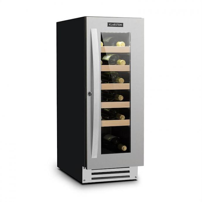 elegantan manji vinski hladnjak 20 boca kapacitet