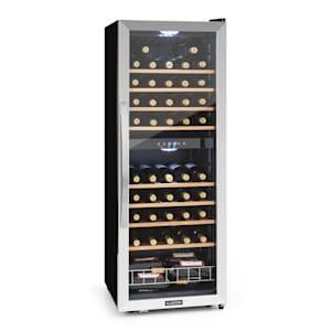 vinski hladnjak za 54 boce, dvozonski