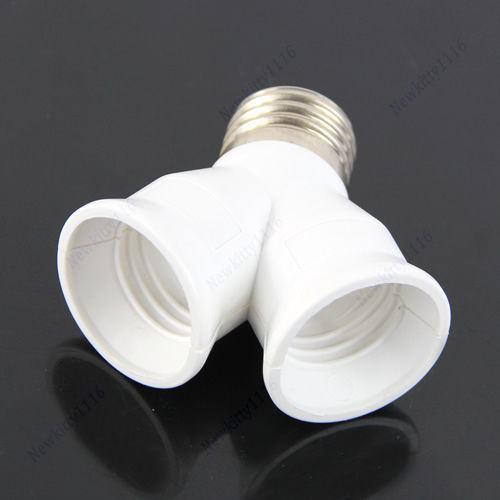 Adapter iz jednog grla žarulje u DVA grla žarulje E27