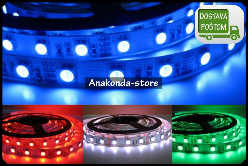 30 dioda 5050 SMD RGB po Metru 7.2W LED Traka dužine 5m = 36W ★RAČUN★