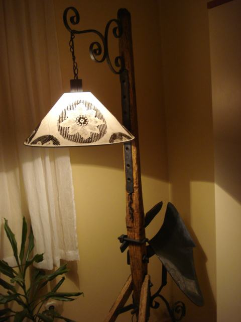 lampa stojeća unikatna
