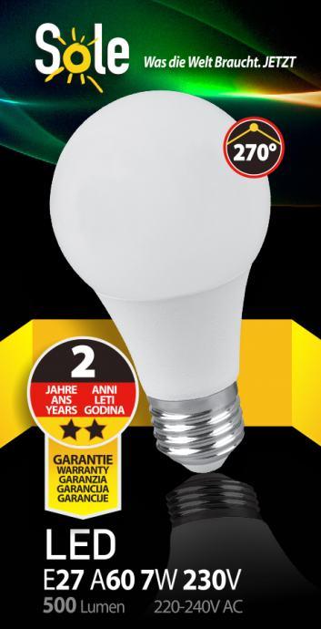 LED žarulja E27- LED žarulje AKCIJA-Najniže cijene LED rasvjeta