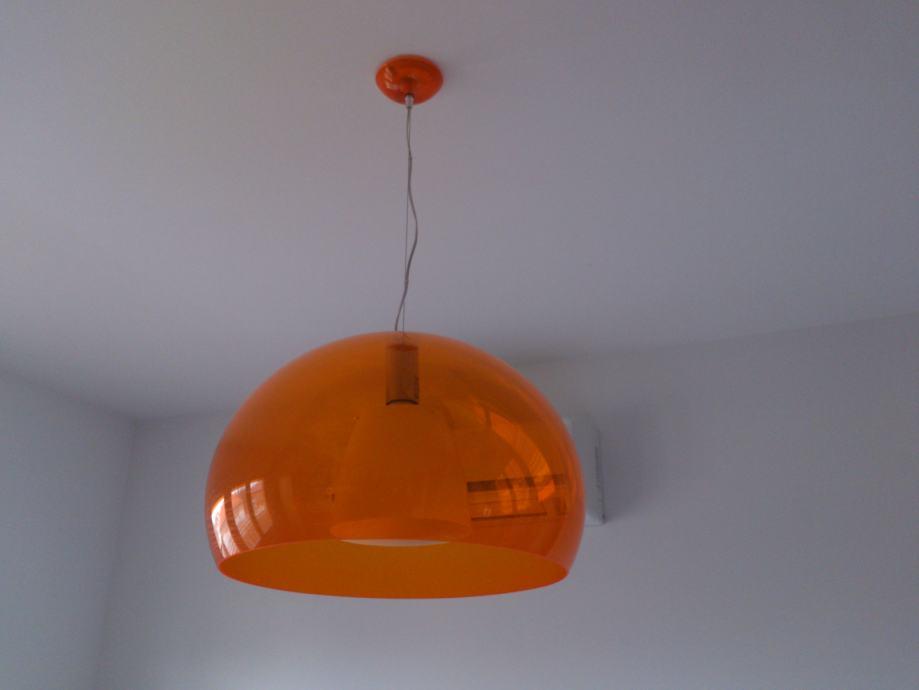 luster kartell fly ceiling light orange. Black Bedroom Furniture Sets. Home Design Ideas