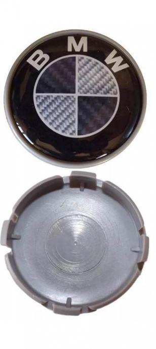 BMW ČEPOVI -58mm carbon