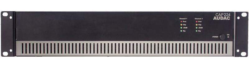 AUDAC CAP224 - instalacijsko pojačalo snage 2 x 240W 100V