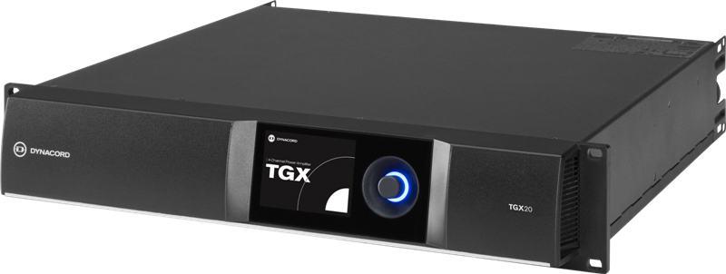 Dynacord TGX20 - DSP power amplifier 4 x 5000W, live