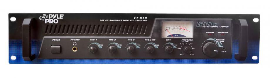 PYLE PRO PT610 (POJAČALO S MIKSETOM - 100 W)