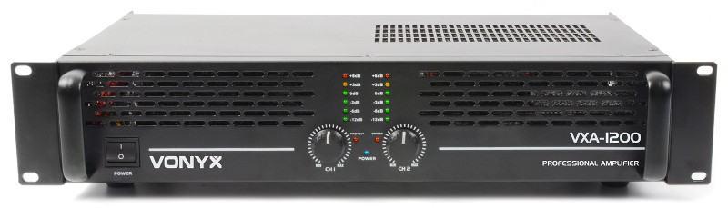Tronios VONYX PA-AMPLIFIER VXA-1200 II 2X 600W