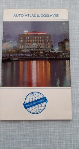 prospekt knjiga auto atlas jugoslavije