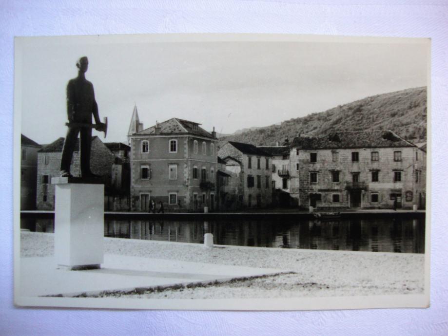 STARIGRAD - HVAR old foto post card