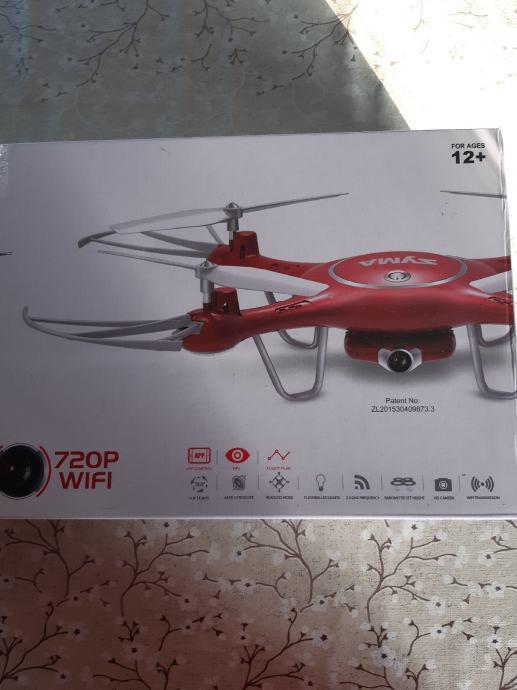 Dron X5uw (720P)