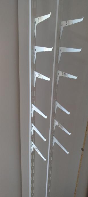 Zidni nosac profila za izlaganje robe
