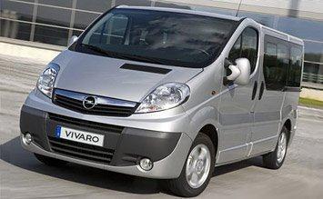 Opel Vivaro 8+1 sjedala / najam cijeli mjesec 9000,00 kn / VINTAX rent