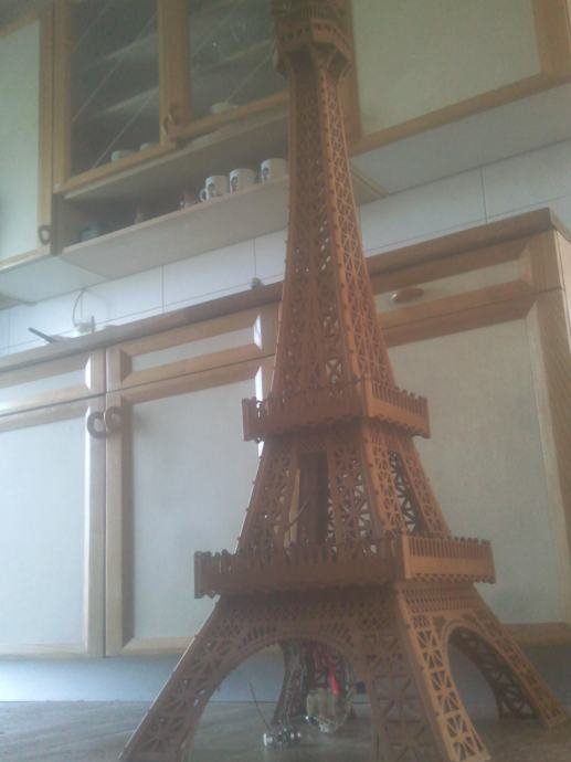 Jutarnji list - Hoće li Eiffelov toranj biti prekriven