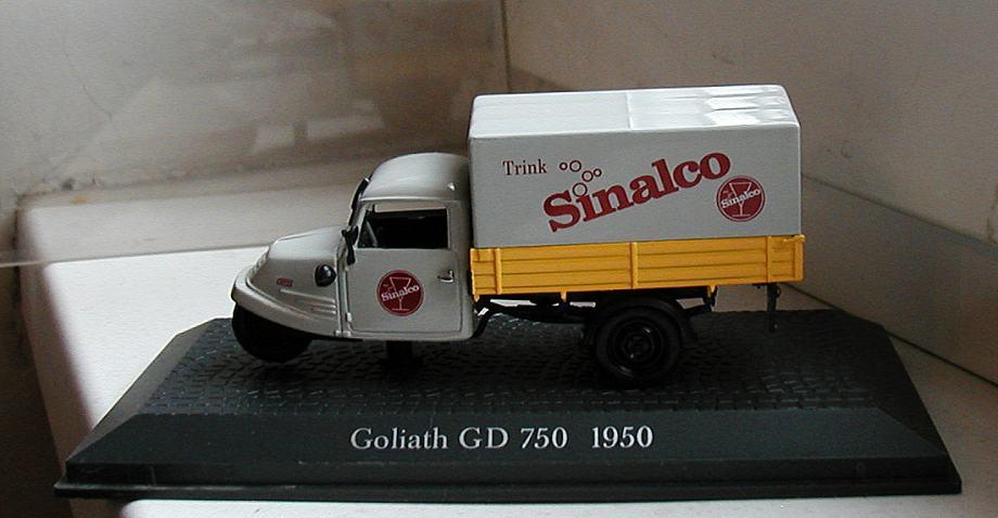 Model autića Goliath GD 750 1950