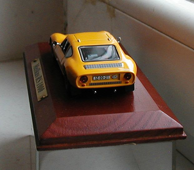 Model autića Melkus RS 1000
