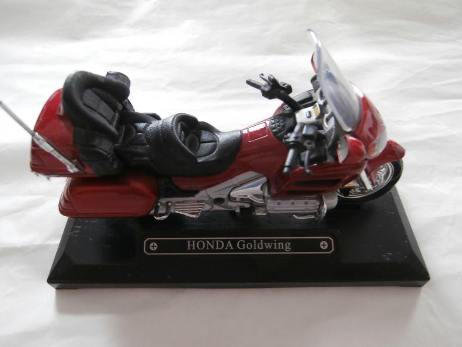 Model motor Honda Goldwing