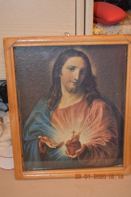 Slika Srce Isusovo 33.5cm x 28.5cm