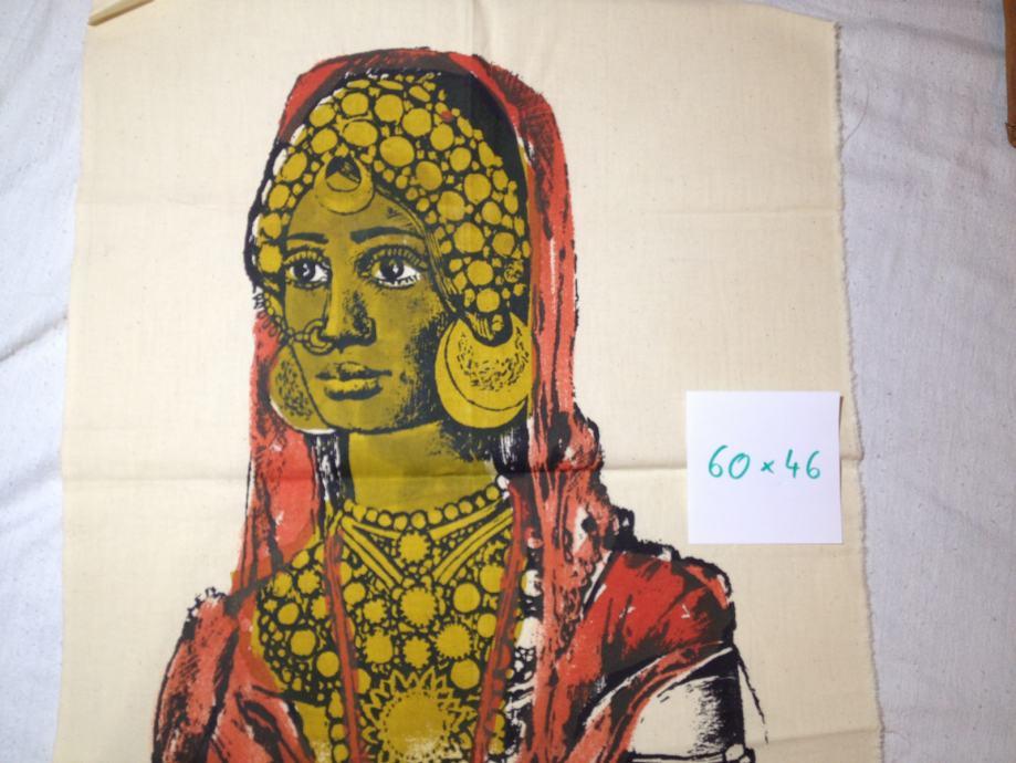 Slika na tekstilu iz Sudana