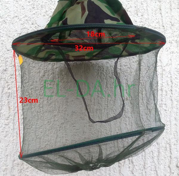 Energofish šešir s mrežicom protiv komaraca