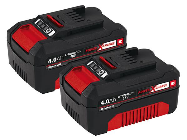 Einhell PXC-Twinpack 4,0 Ah, 2 baterije u setu AKCIJA