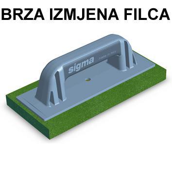 Fraton (GLADILO) SIGMA  250x120 za FILC (SPUŽVU)