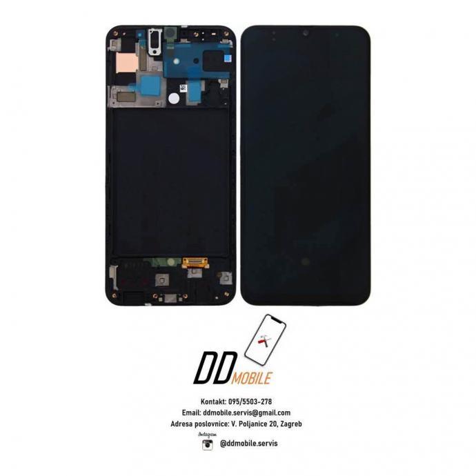 ⭐Samsung Galaxy A50 A505 ORIGINAL ekran s okvirom (garancija/racun)⭐