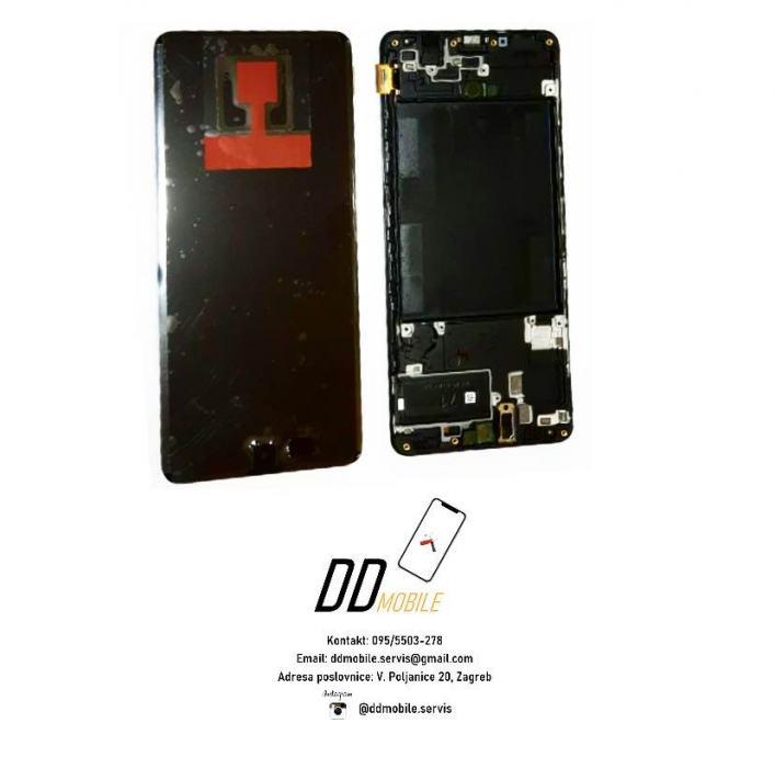 ⭐Samsung Galaxy A71 A715 ORIGINAL ekran s okvirom (garancija/racun)⭐