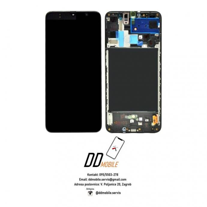 ⭐Samsung Galaxy A80 A805 ORIGINAL ekran s okvirom (garancija/racun)⭐