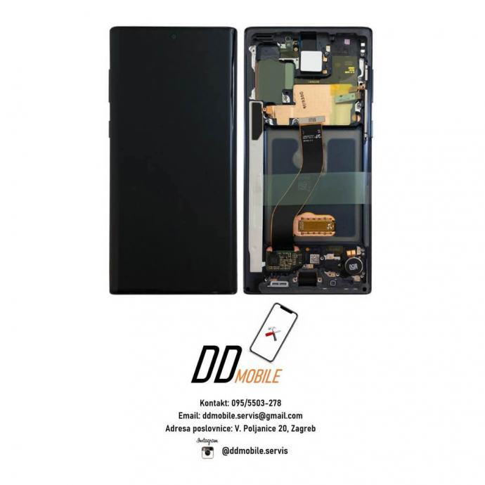 ⭐️Samsung Galaxy Note 10 ORIGINAL ekran s okvirom (garancija/racun)⭐️
