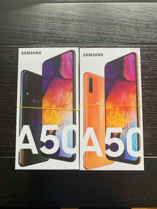Samsung Galaxy A50 Black & Coral DUOS novo-zapakirano-racun