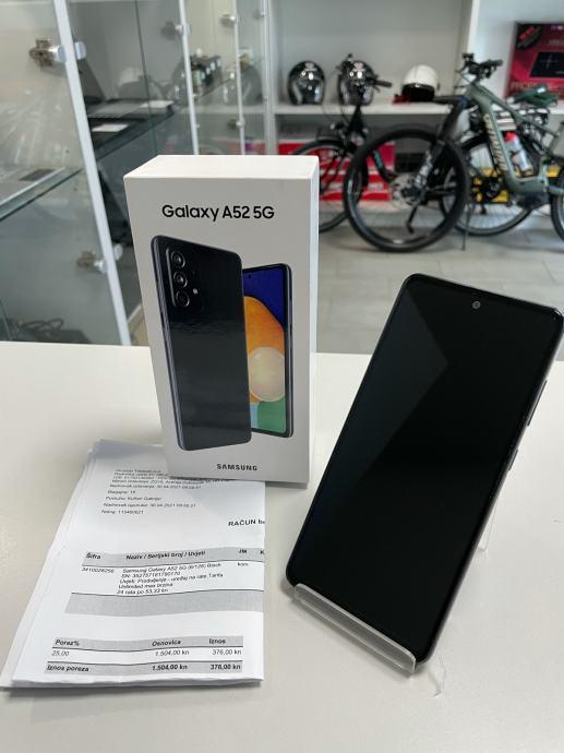 Samsung Galaxy A52 5G, Garancija, R1 račun