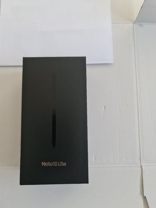 SAMSUNG GALAXY NOTE 10 LITE 128/6GB BLACK RAČUN