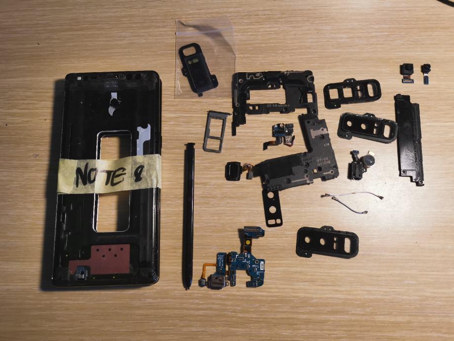 Samsung Galaxy Note 8 dijelovi