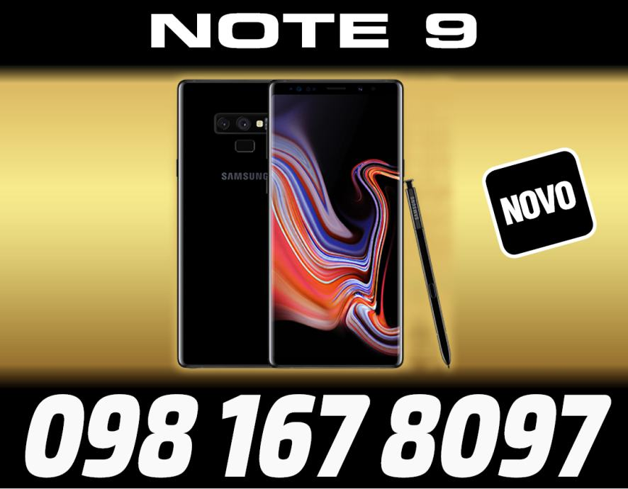 SAMSUNG GALAXY NOTE 9 MIDNIGHT BLACK,NEKORISTENO,DUAL SIM,R1,HP EXPRES