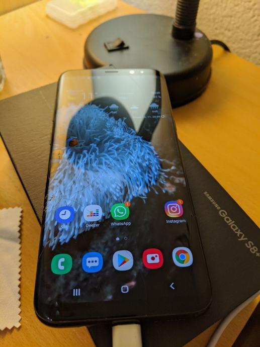 Samsung S8 Plus #Osteceno staklo