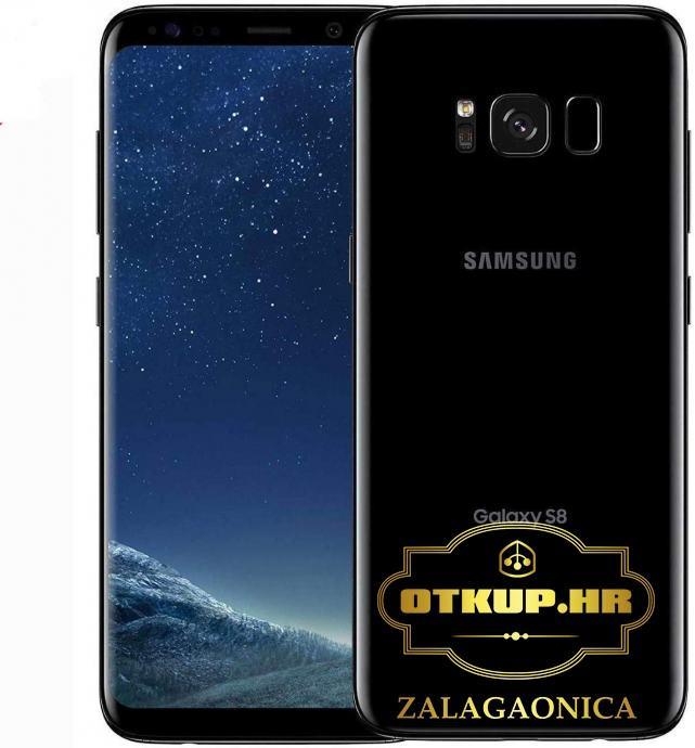 SAMSUNG GALAXY S8 64 GB MIDNIGHT BLACK / R1, RATE !
