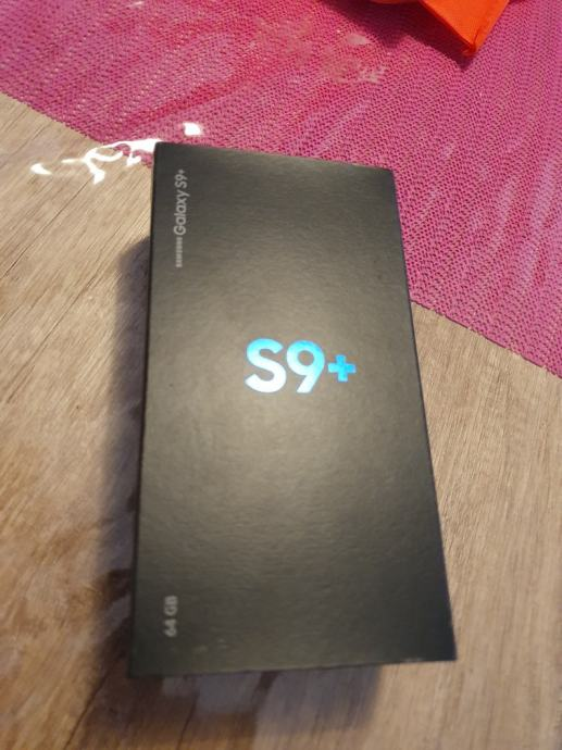 Samsung Galaxy S9 Plus Dual SIM 64GB SM-Midnight Black