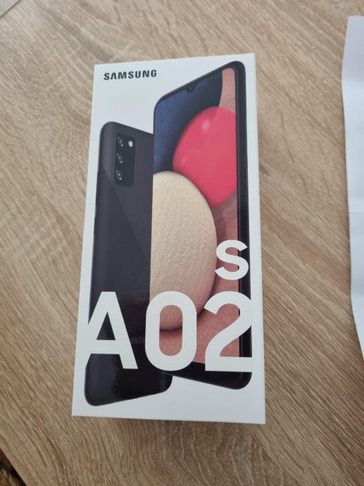 Samsung galaxy A02s- NOVO/ZAPAKIRAN