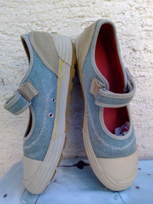 Cat ženske sandale od kože i tekstila 41