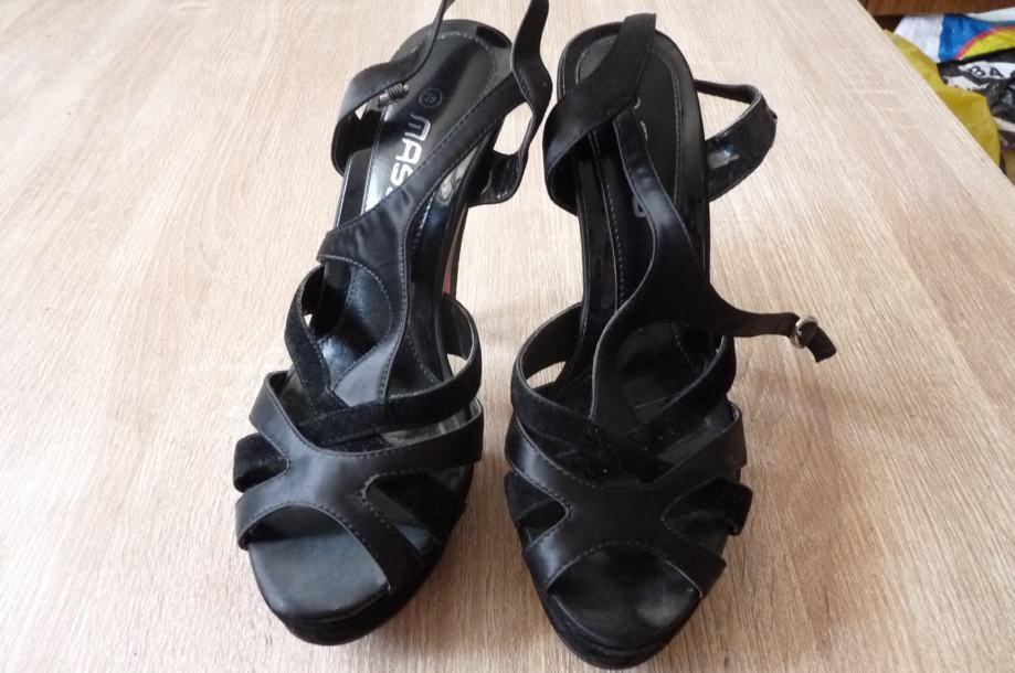 Crne sandale MASS 39 - POVOLJNO 159kn!!!